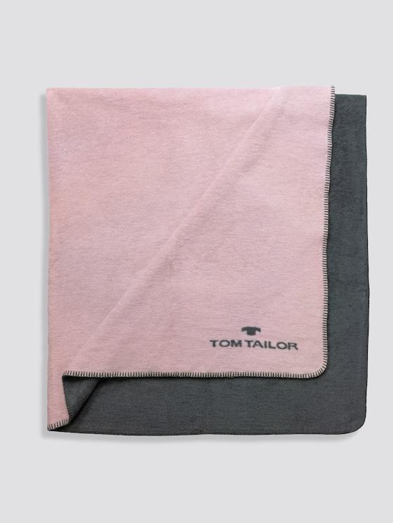 Wende-Decke - unisex - rose - 1 - TOM TAILOR