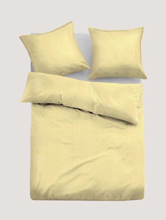 Leinen Bettwäsche - Natural Colors - unisex - yellow - 7 - TOM TAILOR