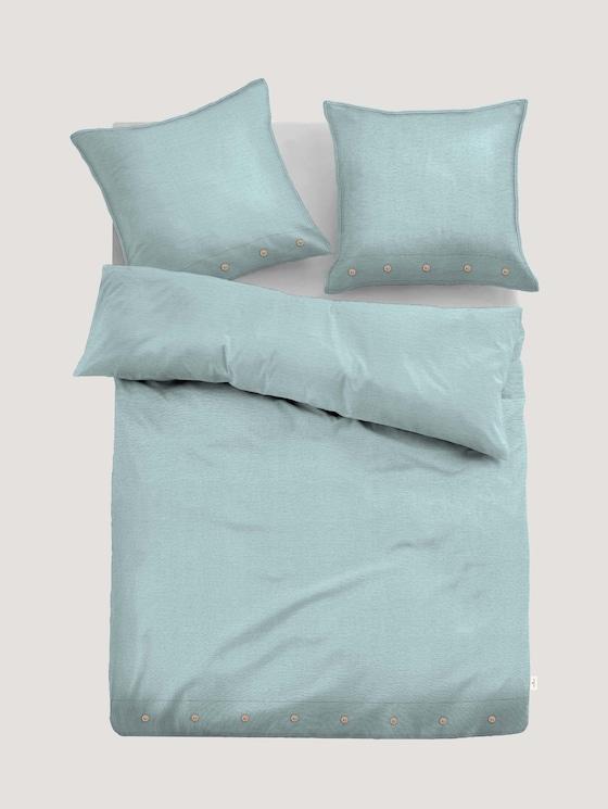 Leinen Bettwäsche - Natural Colors - unisex - lichtblau / l.blue - 7 - TOM TAILOR