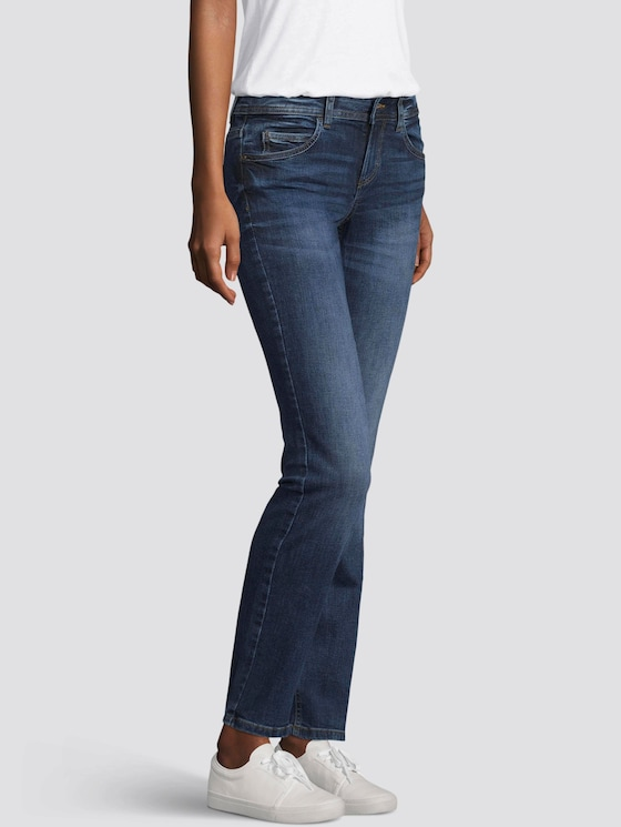 Alexa straight Jeans - Vrouwen - mid stone wash denim - 5 - TOM TAILOR