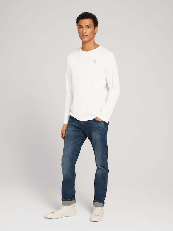 Jeans Piers slim - Mannen - dark stone wash denim - 3 - TOM TAILOR Denim