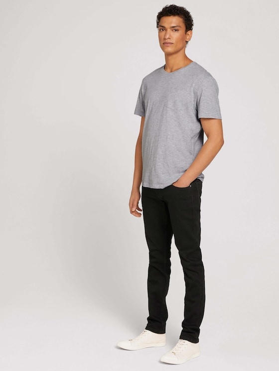 Piers Super Slim Superstretch Jeans - Männer - black denim - 3 - TOM TAILOR Denim