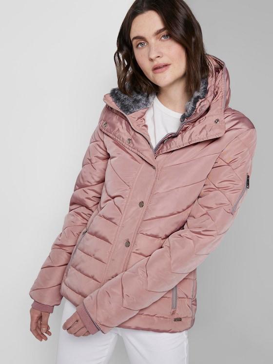 Lined jacket - Women - Taste Of Berry - 5 - TOM TAILOR