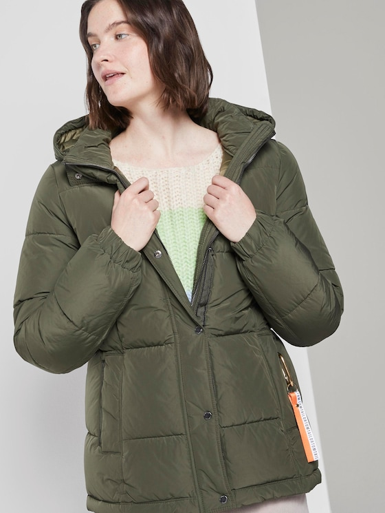 Pufferjacke - Frauen - Woodland Green - 5 - TOM TAILOR