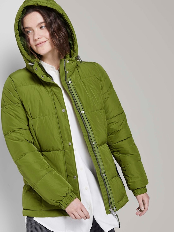 Pufferjacke - Frauen - wood green - 5 - TOM TAILOR
