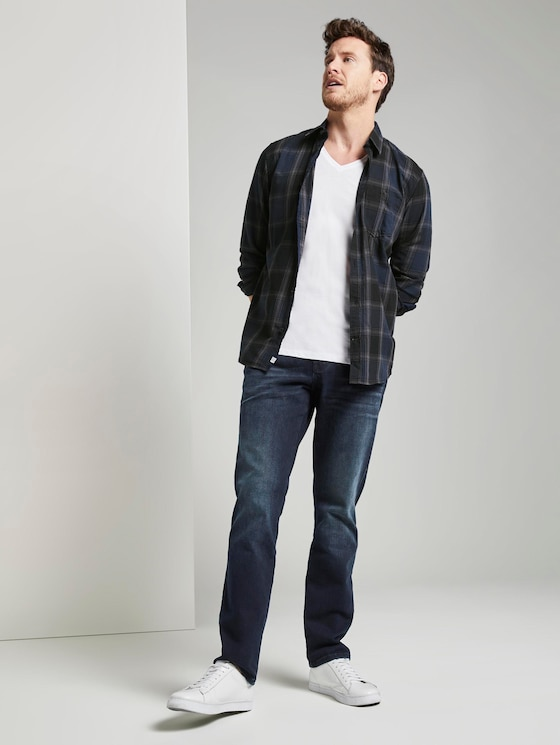 Josh Regular Slim Jeans - Männer - blue black denim - 3 - TOM TAILOR