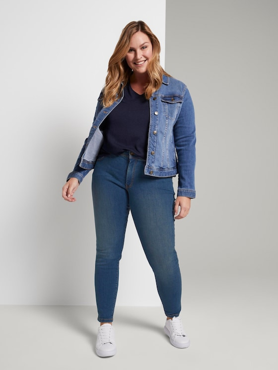 Skinny Jeans - Frauen - Blue Denim - 3 - My True Me