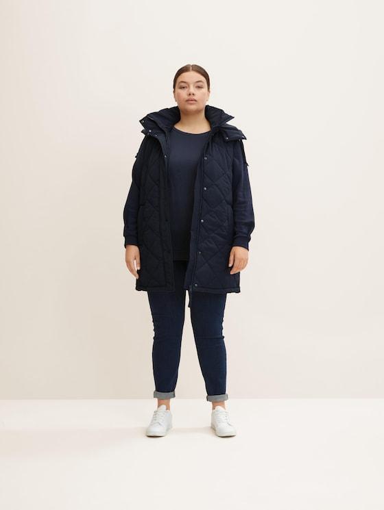 Curvy - Skinny Jeans - Frauen - dark dye blue denim - 3 - My True Me