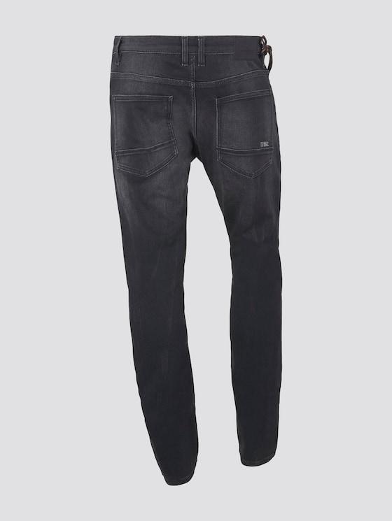 Josh Regular Slim Jeans - Männer - black stone wash denim - 8 - TOM TAILOR