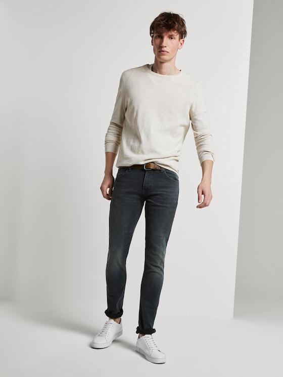 Piers Super Slim Jeans - Männer - green cast denim - 3 - TOM TAILOR Denim
