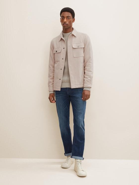 Marvin straight jeans - Mannen - dark stone wash denim - 3 - TOM TAILOR
