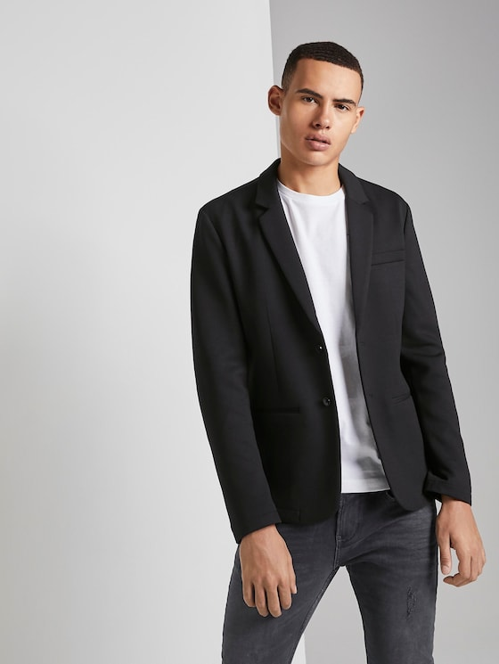 Simple jacket - Men - Black - 5 - TOM TAILOR Denim
