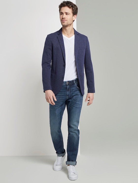Josh Regular Slim Jeans - Männer - Used Mid Stone Blue Denim - 3 - TOM TAILOR