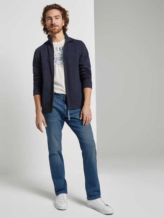 Josh Regular Slim Jeans - Männer - Used Bleached Blue Denim - 3 - TOM TAILOR