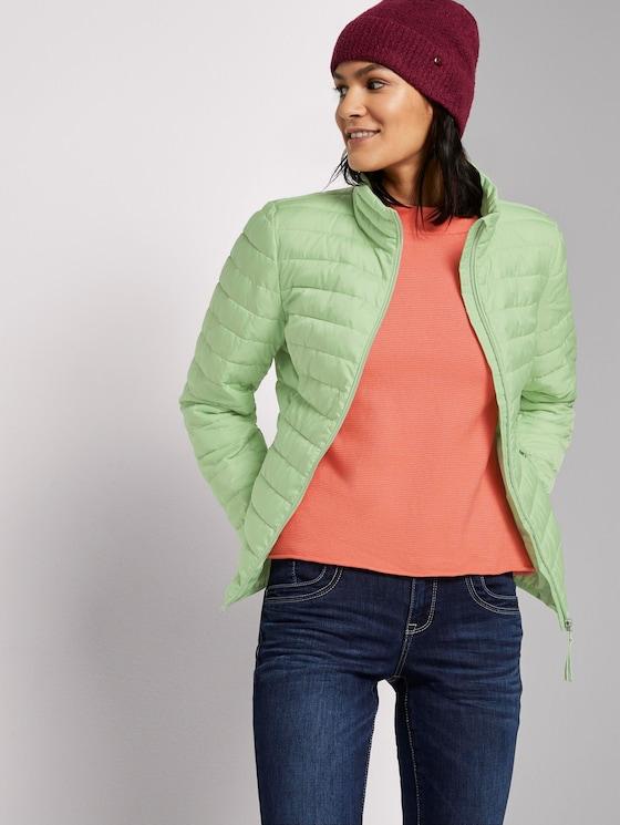 Lightweight quilted jacket - Women - light pistachio green - 5 - TOM TAILOR