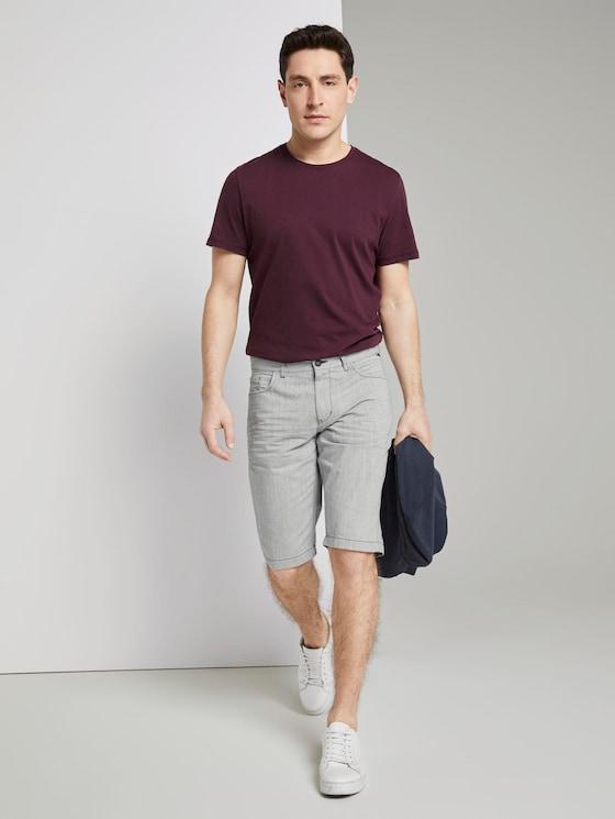 Basic denim shorts - Men - Sky Captain Blue - 3 - TOM TAILOR