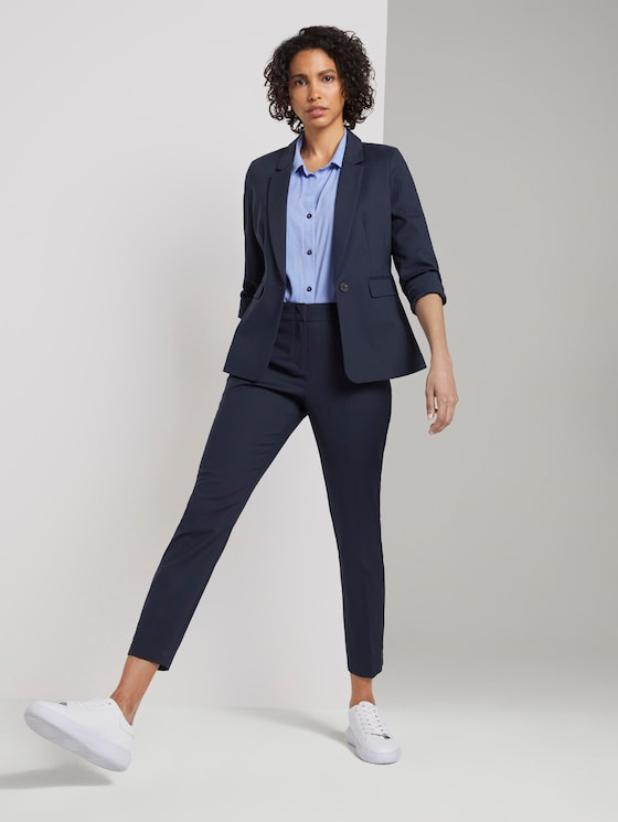 Signature Slim Pants - Women - Sky Captain Blue - 3 - Mine to five