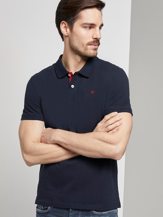 Basic Poloshirt - Männer - Sky Captain Blue - 5 - TOM TAILOR