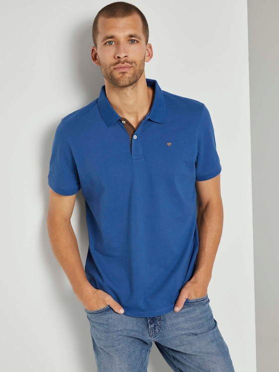 Basic Poloshirt - Männer - Advanced Blue - 5 - TOM TAILOR