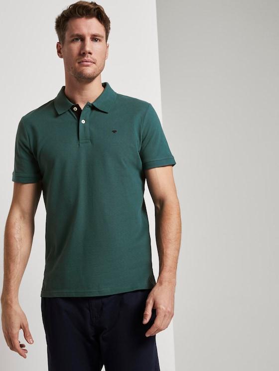 Basic Poloshirt - Männer - Stroke Green - 5 - TOM TAILOR