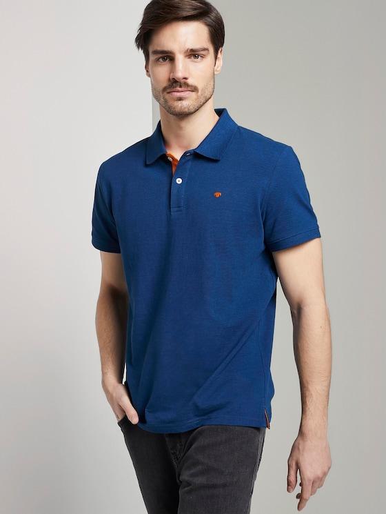 Basic Poloshirt - Männer - after dark blue - 5 - TOM TAILOR
