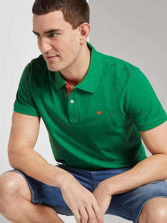Basic Poloshirt - Männer - jolly green - 5 - TOM TAILOR