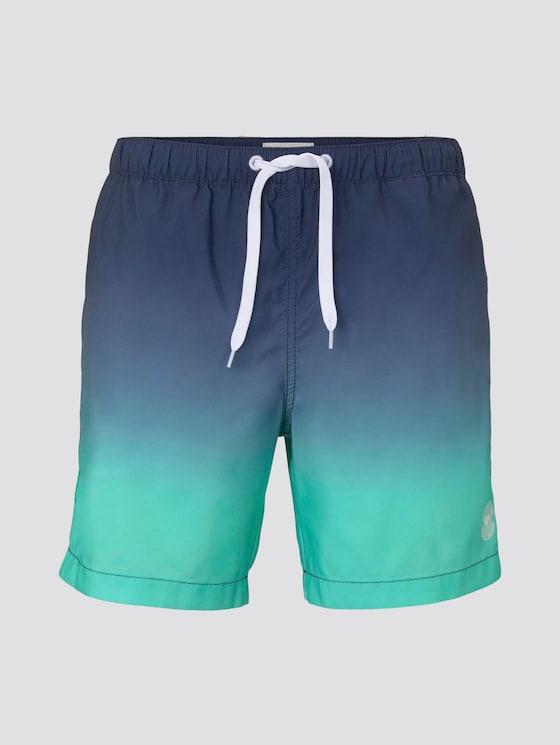 Badeshorts - Männer - green gradient design - 7 - TOM TAILOR