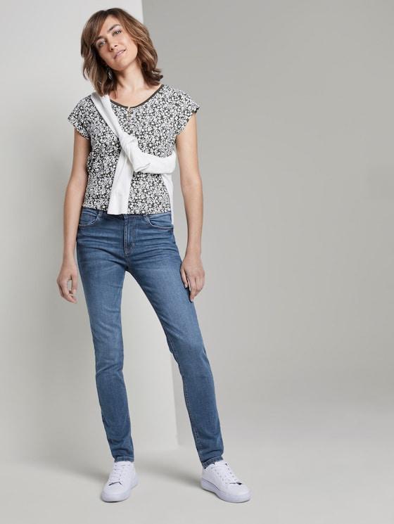 Kate skinny jeans - Vrouwen - light stone wash denim - 3 - TOM TAILOR