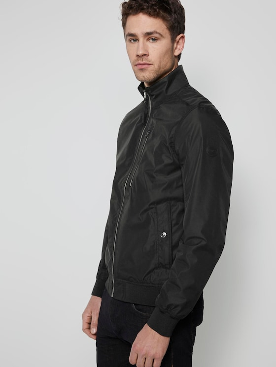 Blouson jacket - Men - Black - 5 - TOM TAILOR