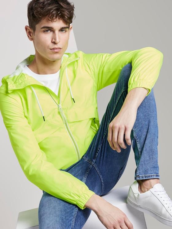 Leichte Übergangsjacke - Männer - neon green - 5 - TOM TAILOR Denim