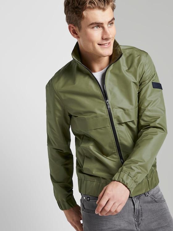 Moderne Jacke mit Stehkragen - Männer - faded moss green - 5 - TOM TAILOR Denim