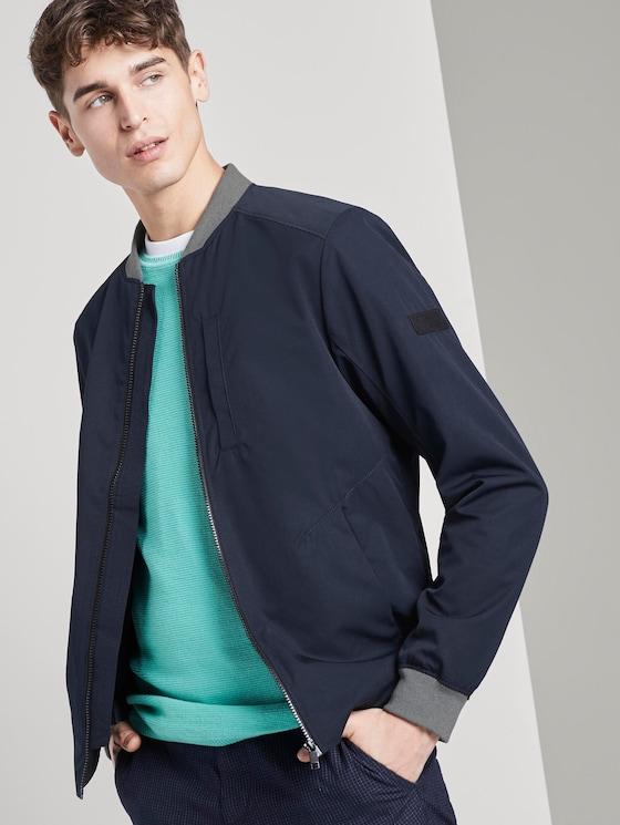 modern bomber jacket - Men - Sky Captain Blue - 5 - TOM TAILOR Denim