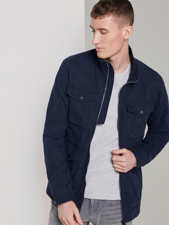 Utility-style jacket - Men - Sky Captain Blue - 5 - TOM TAILOR Denim