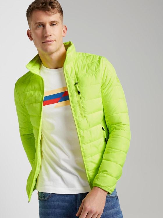 Lightweight Jacke - Männer - neon green - 5 - TOM TAILOR Denim