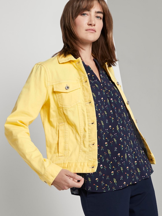 Jeansjacke - Frauen - jasmine yellow - 5 - TOM TAILOR
