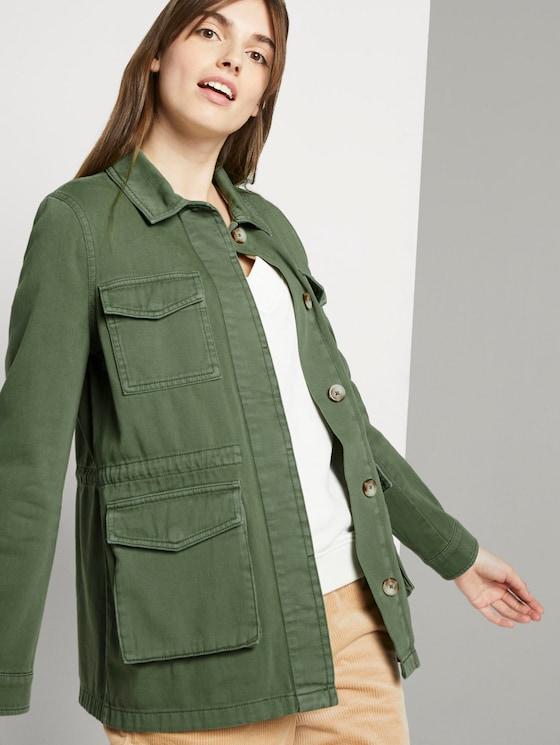 Utility field jacket - Women - dull moss green - 5 - TOM TAILOR Denim