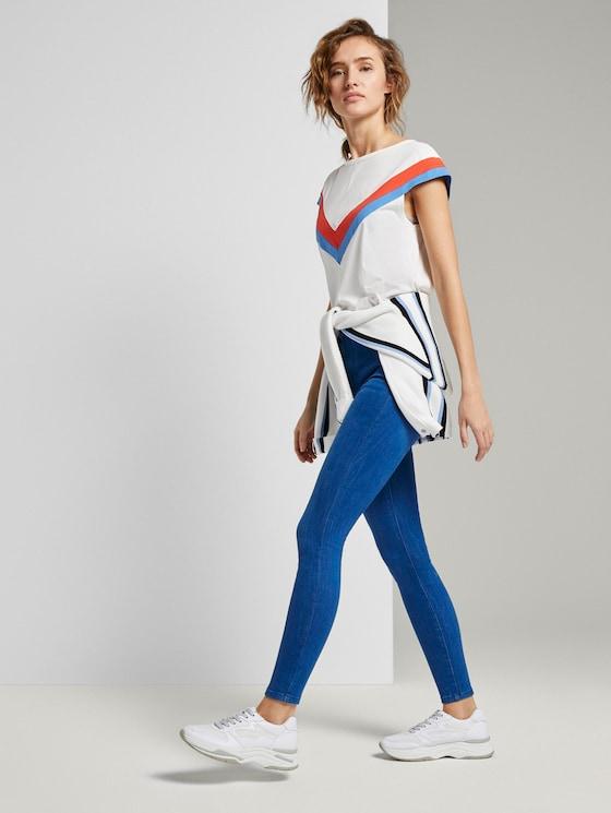Janna Extra Skinny Jeans - Frauen - azur blue denim - 3 - TOM TAILOR Denim