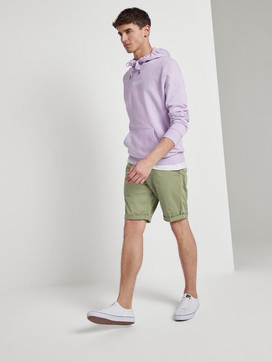 Slim Chino Shorts - Männer - greyish green - 3 - TOM TAILOR Denim