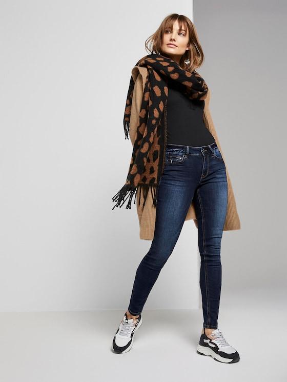 Jona Extra Skinny Jeans mit recyceltem Polyester - Frauen - dark stone wash denim - 3 - TOM TAILOR Denim