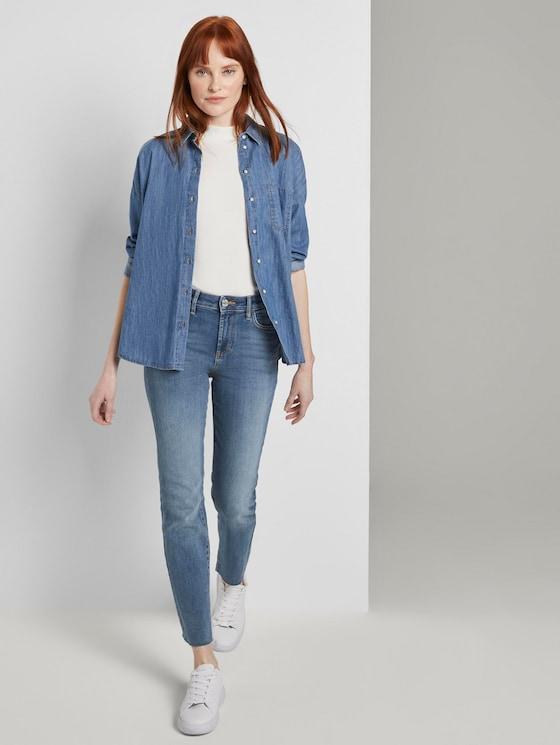 Kate Slim Jeans - Frauen - light stone wash denim - 3 - TOM TAILOR