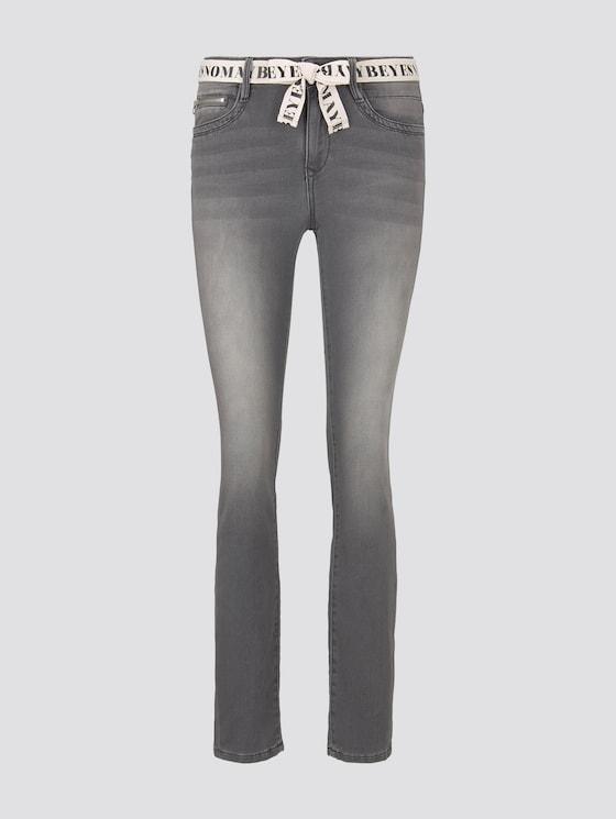 Alexa Slim Jeans - Frauen - grey denim - 7 - TOM TAILOR