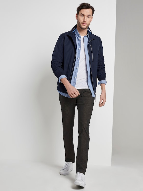 Troy Slim Tech Denim - Männer - dark blue denim - 3 - TOM TAILOR