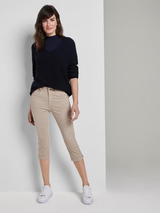 Kate Slim Capri-Jeans - Frauen - Dusty Taupe - 3 - TOM TAILOR