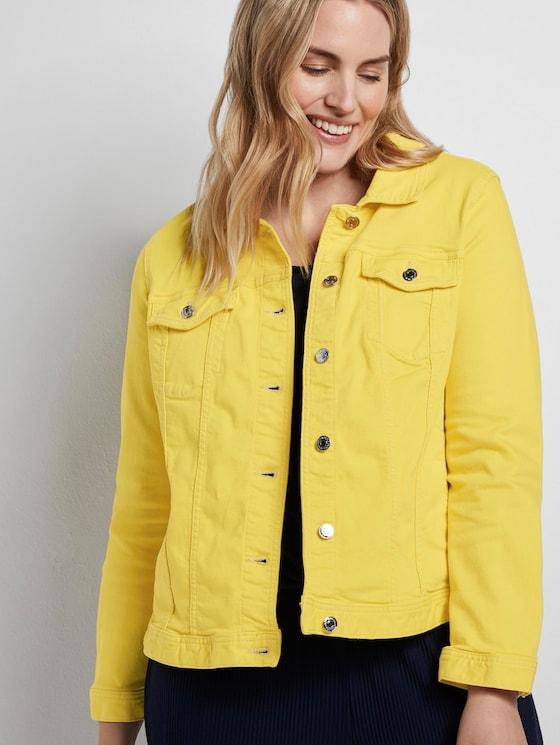 Gekleurd denim jasje - Vrouwen - jasmine yellow - 5 - My True Me