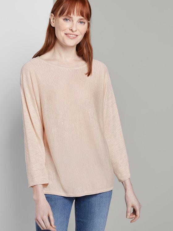 Schlichter Pullover - Frauen - soft vanilla - 5 - TOM TAILOR