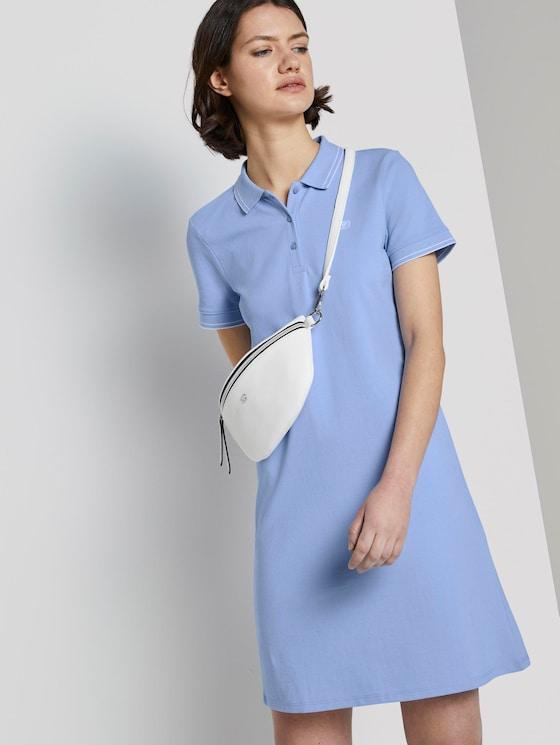 Mini Polokleid - Frauen - fresh light blue - 5 - TOM TAILOR Denim