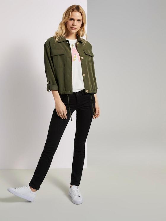 Alexa Slim Jeans - Frauen - black denim - 3 - TOM TAILOR