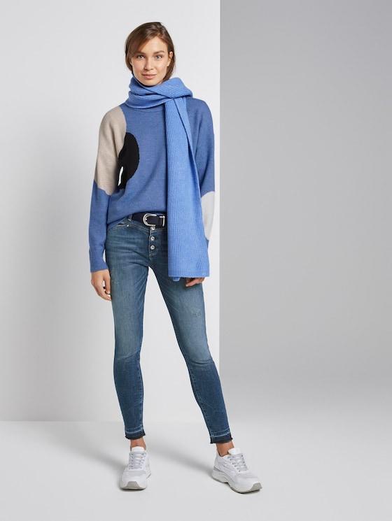Kate Skinny Jeans - Frauen - random bleached  blue denim - 3 - TOM TAILOR
