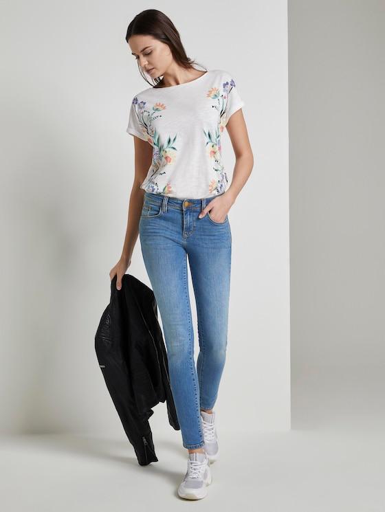 Carrie Skinny Jeans - Frauen - mid stone wash denim - 3 - TOM TAILOR