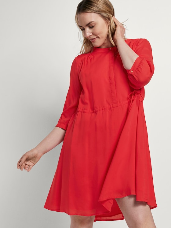 Dress with a stand-up collar - Women - Virtual Rec - 5 - My True Me